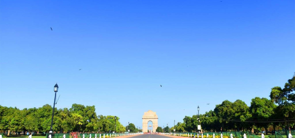 new-delhi-clear-sky-pollution-free