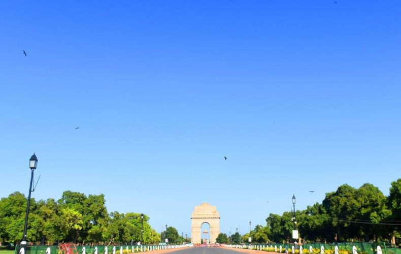 new-delhi-clear-sky-pollution-free