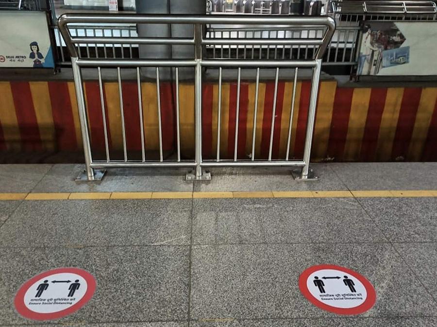 Delhi-Metro-Platform-Corona