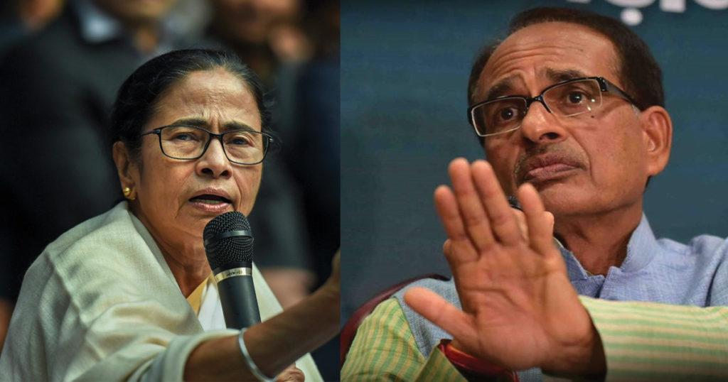 mamta-banerjee-shivraj-singh-chouhan-letter-lockdown4-bengal